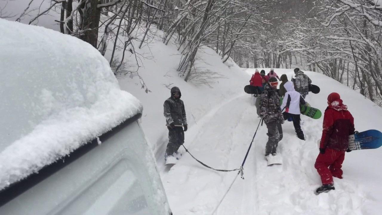 Есть ли горнолыжный курорт в Крыму?