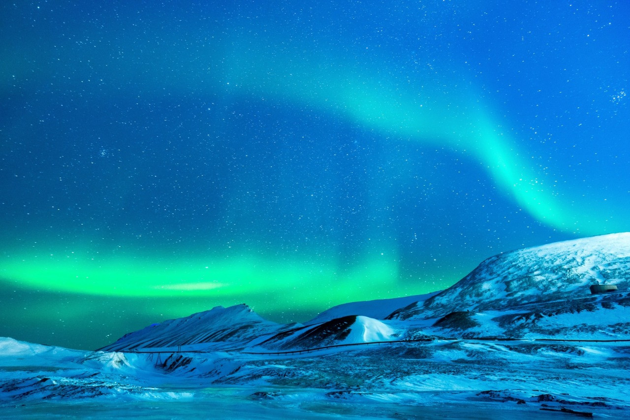 Где в России можно увидеть северное сияние?