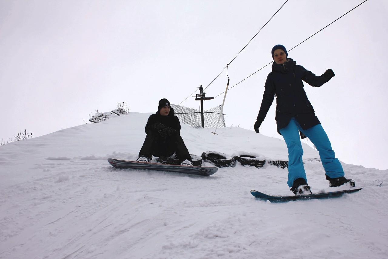 Впечатления от поездки на горнолыжную базу Сорокино (Старый Оскол)