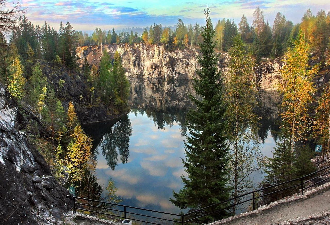 Мраморный парк «Рускеала» — «жемчужина» Карелии