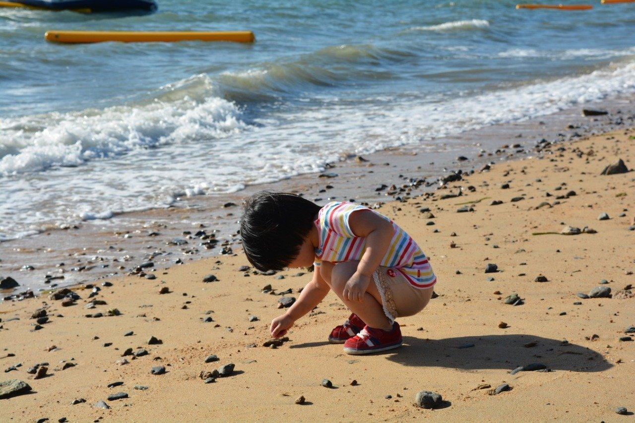 В первый раз на море с ребенком: советы родителям