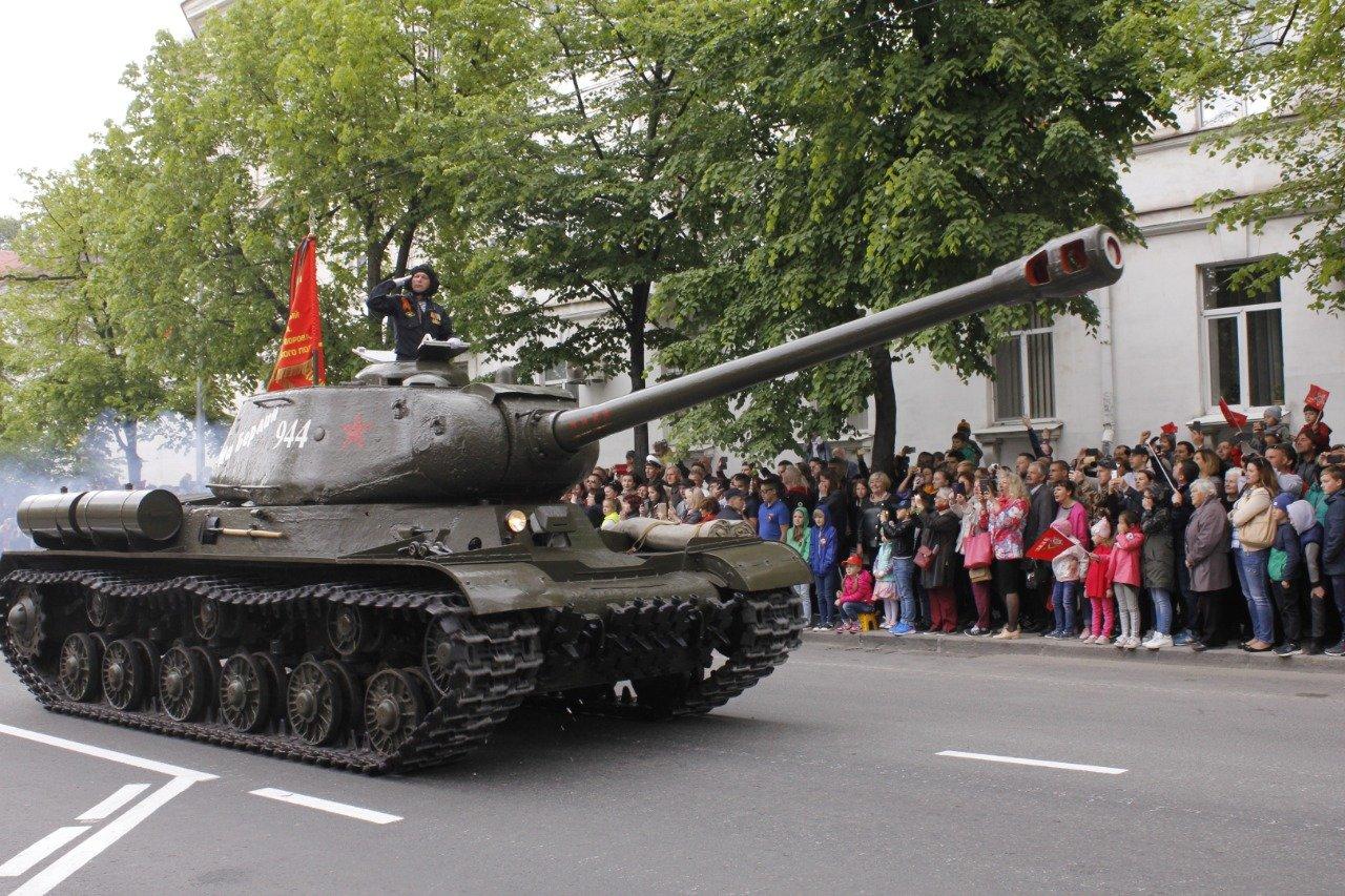 Как Севастополь празднует 9 Мая