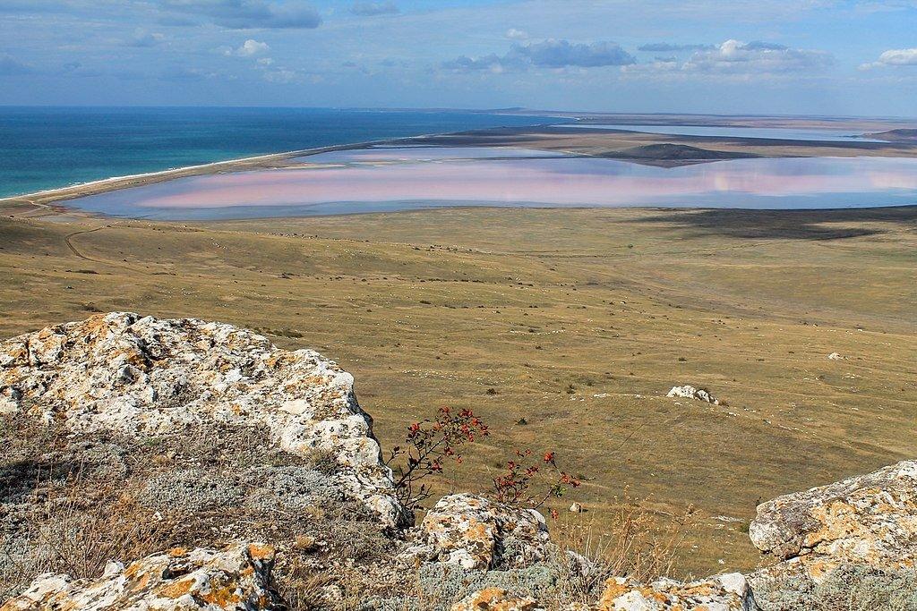 Озера с лечебной грязью в Крыму
