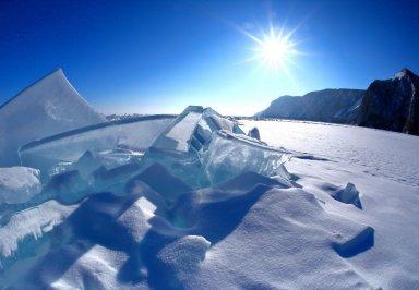 Почему на Байкале прозрачный лед? Подборка интересных фактов