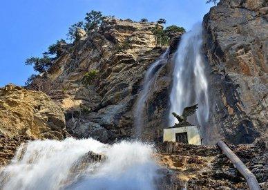 Самые высокие водопады России