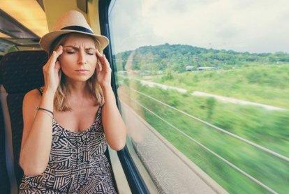 Что делать, если в поездках укачивает?