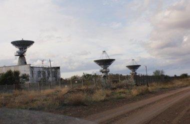 Центр дальней космической связи в Евпатории: что можно увидеть из-за забора?