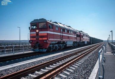 Опубликовано расписание поездов в Крым через Крымский мост