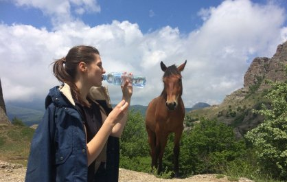 Подъем на Южную Демерджи: привидения, кони и погодные аномалии
