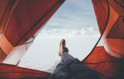 Как быстро согреться в палатке