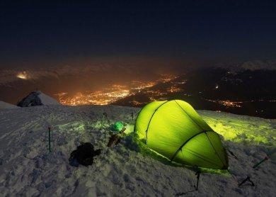 Ночевка в походе: как выбрать место для стоянки с палатками?